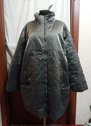 Куртка,женск,деми,новая,батал,р.66,68,70.ц.450 гр