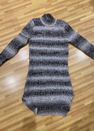 Тёплое зимние платье турция