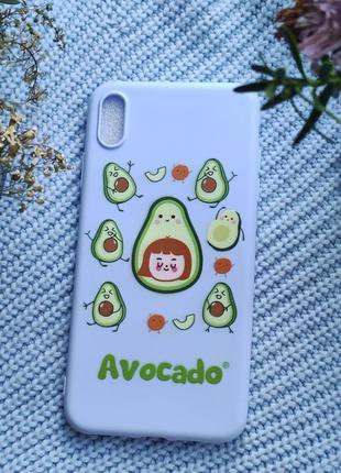 Чохол з авокадо на iphone хs max  чехол с авокадо на iphone xs max