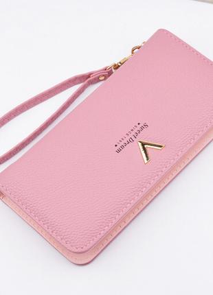 e5973a8fea5d Кошелек клатч женский розовый, цена - 285 грн, #9397328, купить по ...