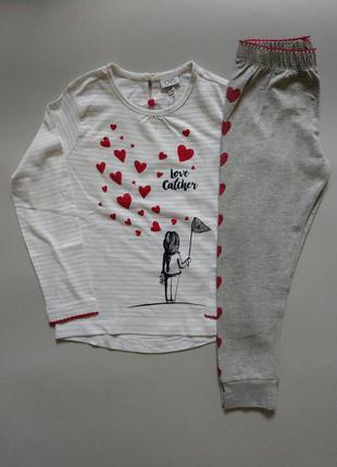 Пижама, костюм для девочки, 104см, 3-4года, ovs, италия