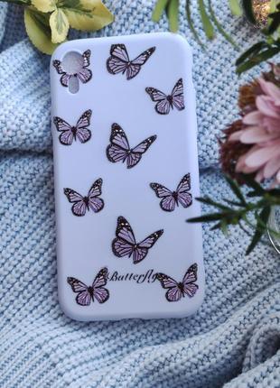 Чохол з метеликами на iphone xr чехол с бабочками на iphone xr