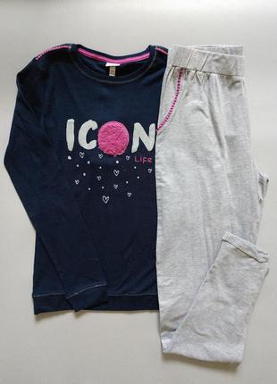 Пижама для девочки, 164см, 13-14лет, ovs, италия