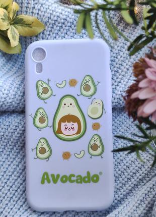 Чохол на iphone xr з авокадо чехол на iphone xr с авокадо
