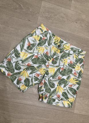🍀 стильные льняные шорты/бермуды esmara, германия