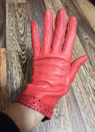 Шкіряні рукавички  s