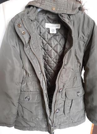 Куртка-парка на девочку  7-8 лет