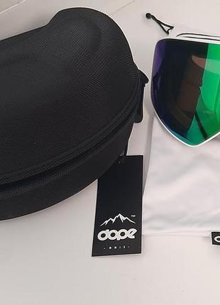 Очки-маска для сноуборда dope