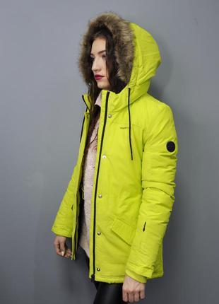 Зимняя куртка adidas на пуху