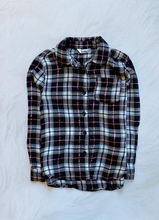 M&co стильная рубашка на девочку  5-6 лет