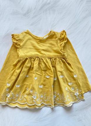 Next  стильная блузка на девочку  1,5-2 года