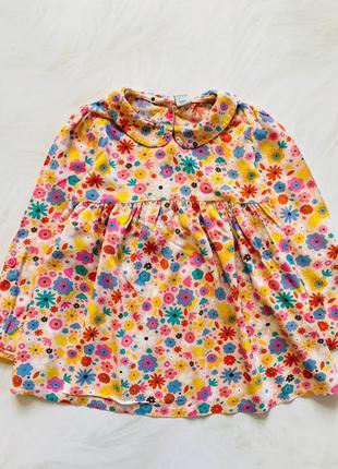Tu  стильная блузка на девочку 3-4 года
