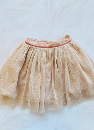 Next    стильная юбка на девочку  12-18 мес