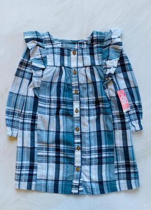 Matalan новое стильное платье на девочку  12-18 мес