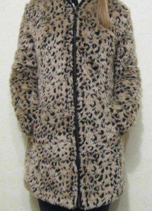 Леопардовая шубка