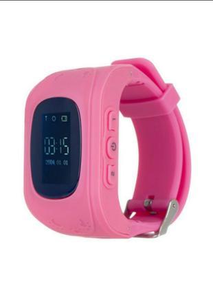 Детские часы с gps трекером ergo gps tracker (pink)