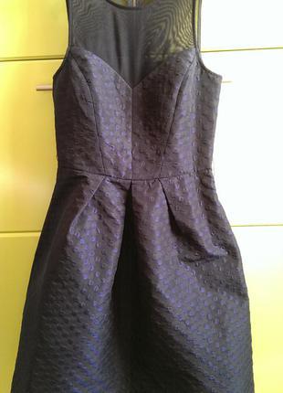 Супер платье в горошек американский бренд