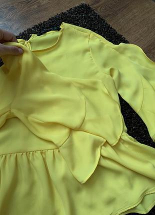 Новая красивая блуза зара 🧡