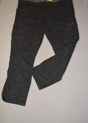 Баталы!!! камуфляжные мужские брюки большого размера 62 c&a германия