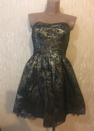 Супер платье бюстье cache-cache