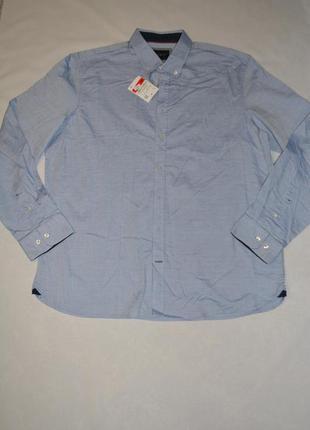 Мужская рубашка хлопок большого размера 56-58 c&a германия