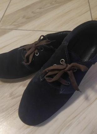 Дитячі туфлі замшеві