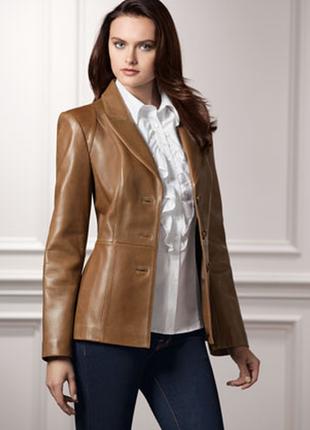 Кожаный пиджак neiman marcus в идеальном состоянии