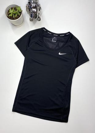 Женская спортивная футболка nike pro оригинал