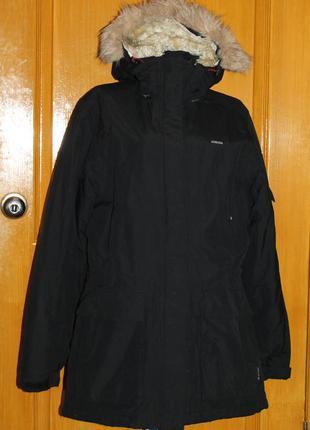 Теплая,качественная зимняя куртка didriksons
