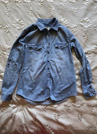 Джинсовая рубашка colin's