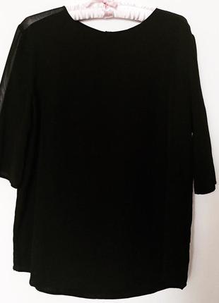 Блуза karl lagerfeld 100% шелк