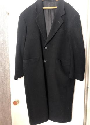 Кашемировое мужское пальто (лама)