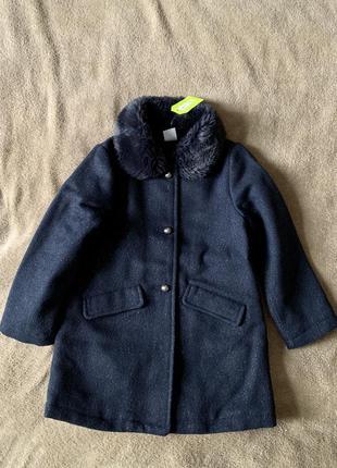 Демисезонне нарядне пальто crazy8 4-6р(106-114cm)