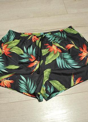 Пляжні шорти плавки шорты zara man - l