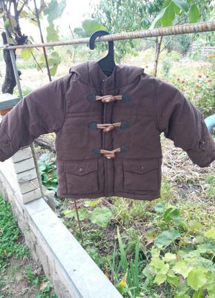 Куртка пальтишко рост 80см