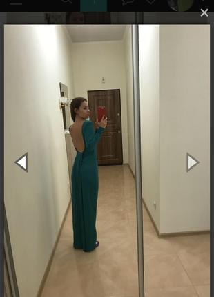 Плаття з откритой спиной