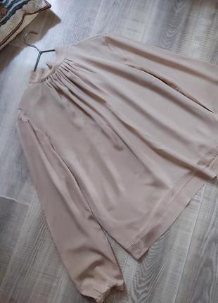 Блуза escada s-m шелк