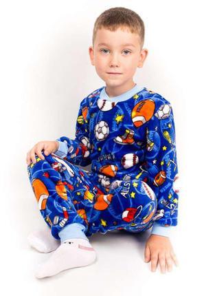 Пижама на манжете махра