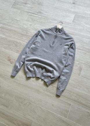 Шерстяной джемпер гольф gant пуловер свитер 100% шерсть
