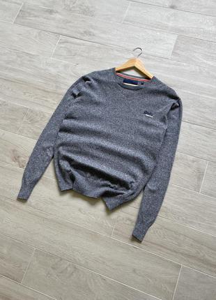 Джемпер пуловер свитер superdry