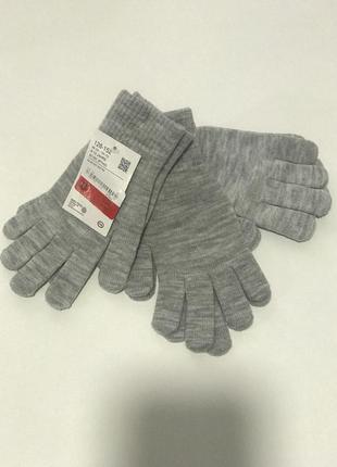 Перчатки 128-152 см c&a
