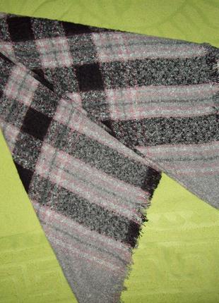 Большой шерстяной платок