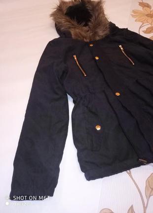 Осіння куртка, курточка, парка (8-10 років), нюанс