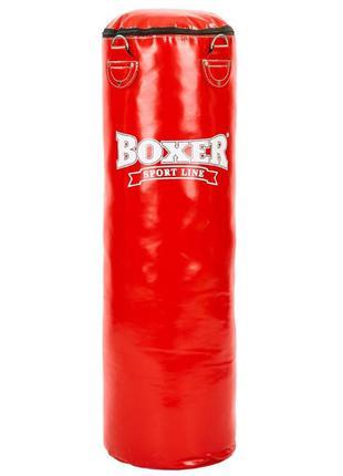 Код: 049184 мешок боксерский boxer pvc 80 см цвет красный (1003-04r)/ 526
