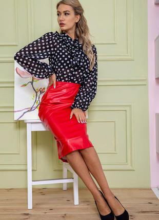 Миди качественный кожзам цвета миди юбка шикарнейшая - xs s m l