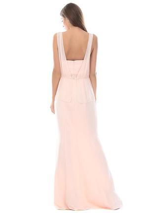 Шикарное платье mango длинное в пол, размер xl2 фото