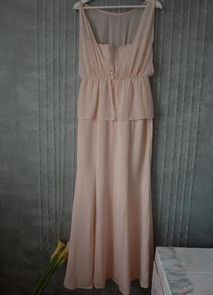 Шикарное платье mango длинное в пол, размер xl5 фото