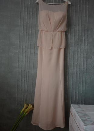 Шикарное платье mango длинное в пол, размер xl4 фото