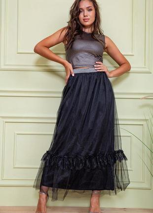 Шикарнейшая юбка миди макси фатиме праздничная 2 в наличии осталось s  m l