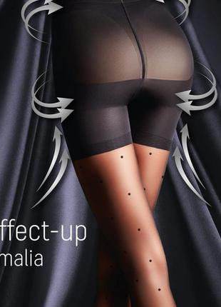 Моделирующие колготки 2-s 40 den в точку giulia effect up amalia микрофибра 3d